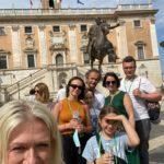 Spcaer z Iwona po Rzymie