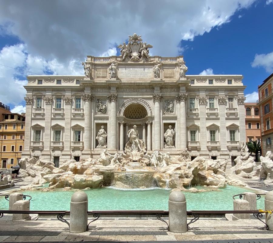Rzym w pigułce Fontana di Trevi