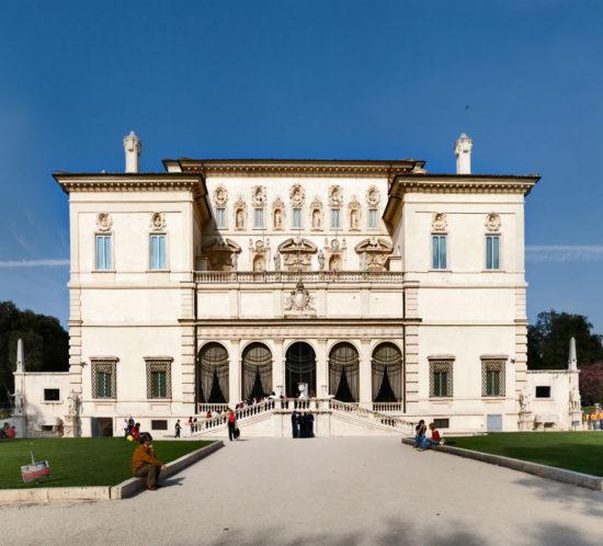 Wejście do Galerii Borghese