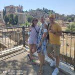 Rzymskie wakacje z klientami na Forum Romanum