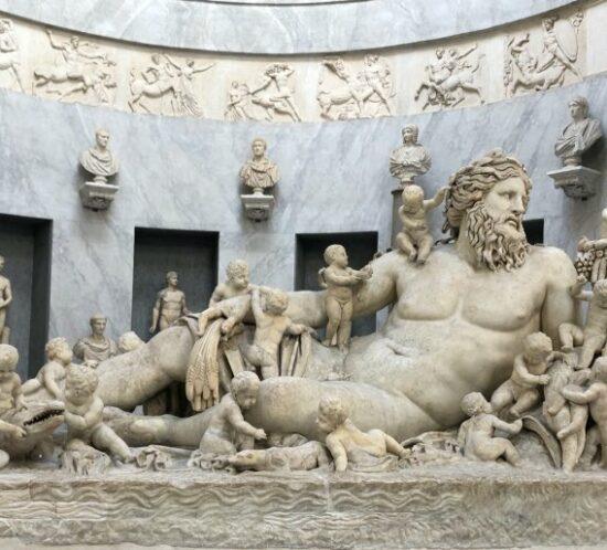 Rzeźba Nilu w Muzea Watykańskich
