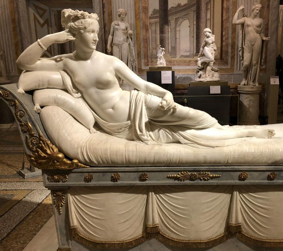 Paolina Bonaparte Borghese Canova