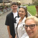 Z Jowita w Watykanie
