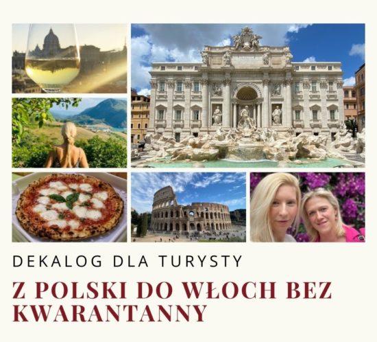 Koronawirus dekalog dla turysty